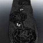 有松鳴海絞り高級浴衣のピンク、黒色が安い!送料無料!括りとは