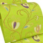 着物の値段が高い理由と騙されない方法!おすすめ帯屋捨松の黄緑色帯!