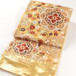 成人式に河合美術織物振袖帯(ゴールド)が安い!購入方法は!
