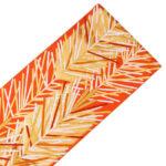 オレンジ色の引き箔振袖帯が下見可能で相場の半額!成人式に