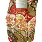 福袋より安い!成人式に古典柄の金刺繍赤色振袖を購入!