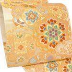 成人式に!藤原織物唐織ゴールド振袖帯を安く買う方法