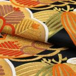 ちそう振袖用帯!梅垣織物(金、黒色)が相場の半額で購入