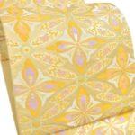 龍村美術織物の留袖用帯(金色)が呉服セール相場より安い!