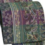 牛首紬訪問着におすすめ!大島紬染め袋帯が相場より安い!