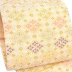 30代訪問着や色無地に河合美術織物袋帯の値段が相場より激安39800円!