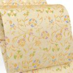 30代訪問着に龍村美術織物の白地袋帯が10万円以下で購入可能!留袖にも