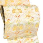 30代留袖・訪問着に!龍村美術織物のゴールド袋帯が安い!132000円