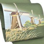 帯を安く買う方法!秀美の風車柄(松葉色)袋帯が安い!泥染め大島紬におすすめ