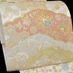 袋帯を安く買う方法!30代訪問着ピンク色におすすめ!藤原織物袋帯(銀色地)