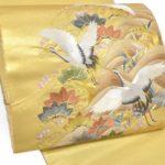 留袖用の本金引き箔の蘇州刺繍袋帯を安く買う方法!50代の方におすすめ3点