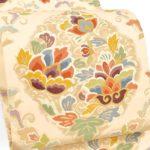 千總(ちそう)振袖におすすめ!北尾織物匠手織り白地袋帯が10万円以下!