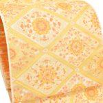 藤井寛訪問着におすすめ!河村織物手織り袋帯(金地)を相場の半額以下で購入
