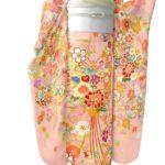 成人式に古典柄ピンク色振袖が激安!合わせる振袖帯!帯締め帯揚げ合わせ方