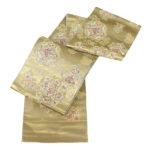 留袖におすすめ!となみ織物引き箔袋帯が10万円以下!引箔とは!