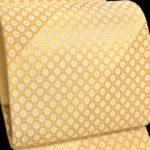 皇室着用柄の河村織物手織り袋帯がコロナ禍で相場の半額!千總(ちそう)留袖・訪問着に
