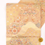30代訪問着用帯を安く買う方法!服部織物袋帯ゴールドが49500円!
