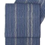 本場筑前博多織の夏八寸帯(紺色)を安く買う方法!大人女性におすすめ