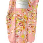 千總振袖古典柄ピンク色が安い!成人式におすすめ!送料無料!